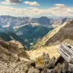 Trekking in Karwendel: Over the Birkkarspitze