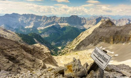 Trekking in Karwendel: Over the Birkkarspitze
