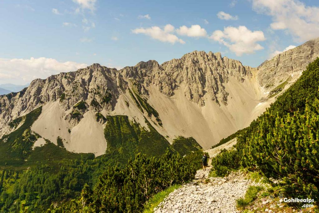 On the Adlerweg in Karwendel